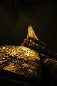Photography pf Eiffel Tower by Ashley Kimi