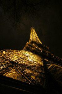 Photography pf Eiffel Tower by Ashley Kimi