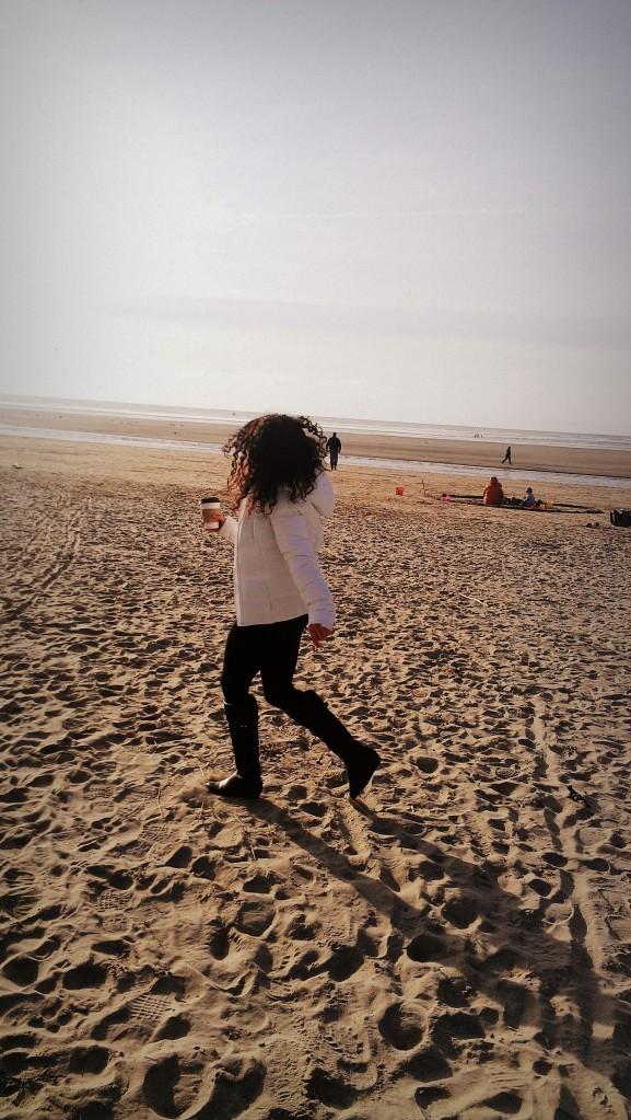 Me, running.